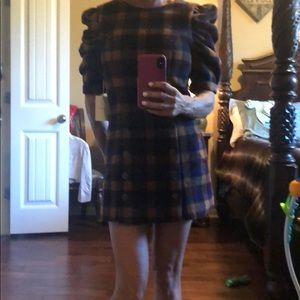 XS Tularosa wool/polyester blend dress